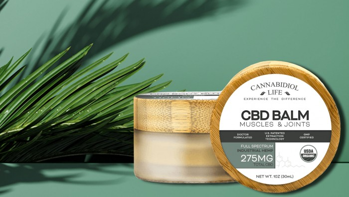 Combat Muscle Soreness & Body Aches with Fast Acting Pain Relief CBD Balm by Cannabidiol Life